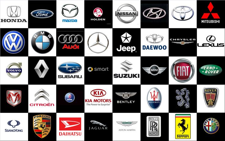 Logo of the most popular brands