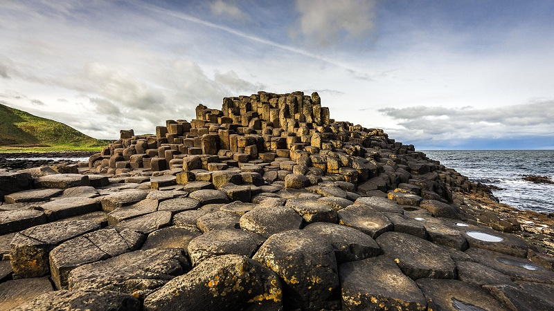 Giants Causeway in Ireland