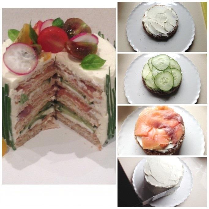 Sandwich Cake Recipe