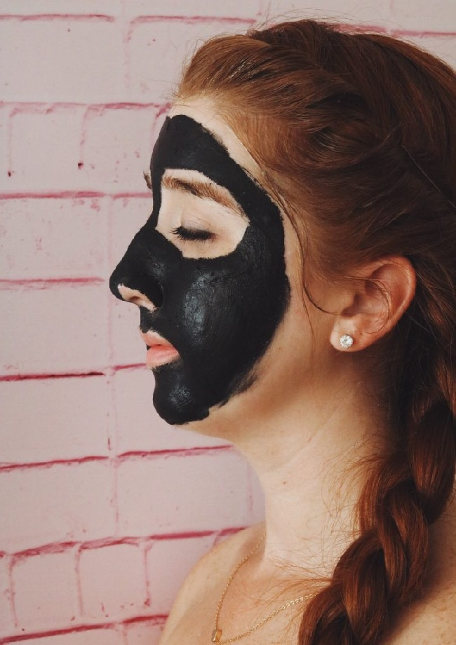 black mask Step by step instruction