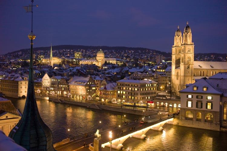 Four destinations of Europe