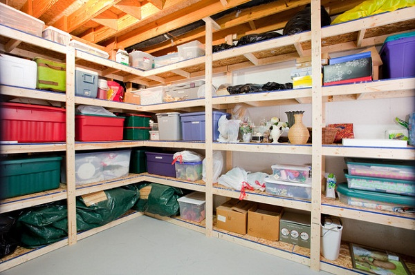 The Best Ways To Store Items In A Basement