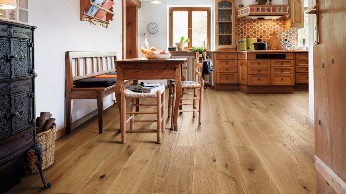 floors and baseboards