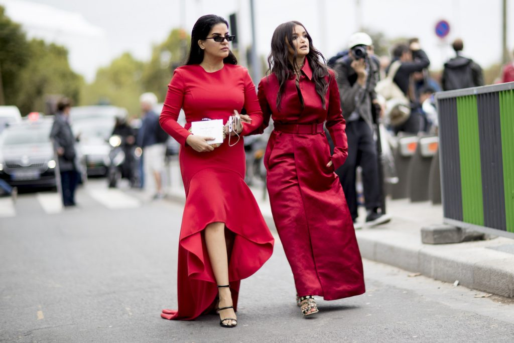 street style red