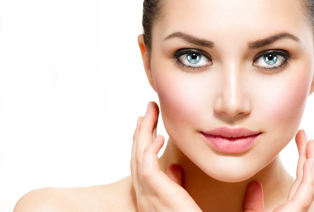 beautiful facial skin