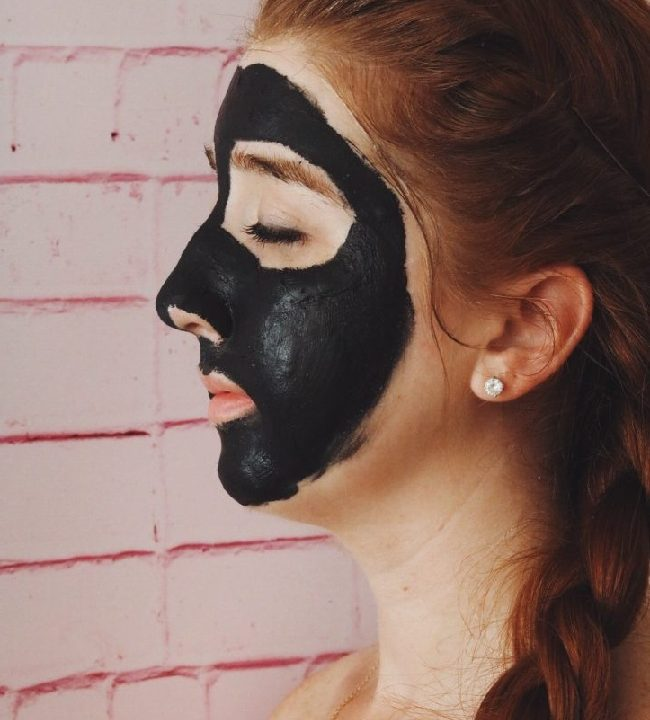 black mask Step by step instruction