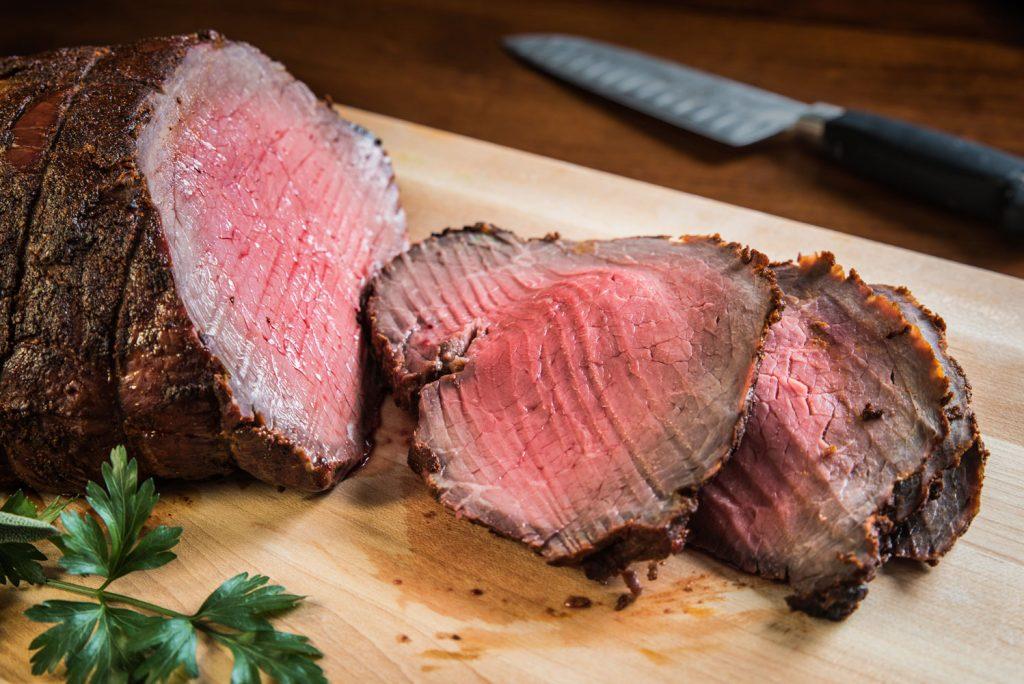 roast the meat