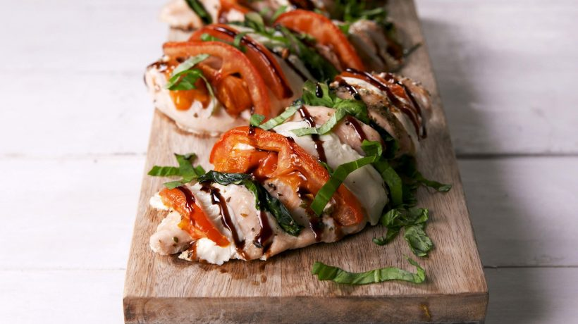 Complete chicken caprese recipe