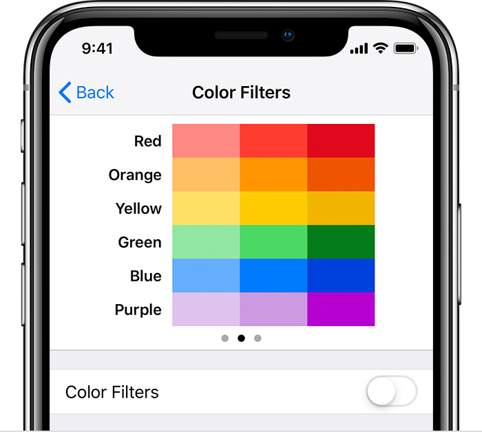 how to change font color on iphone